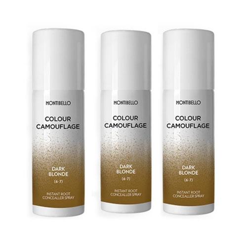 Montibello Root Spray Dark Blonde 3 Pack