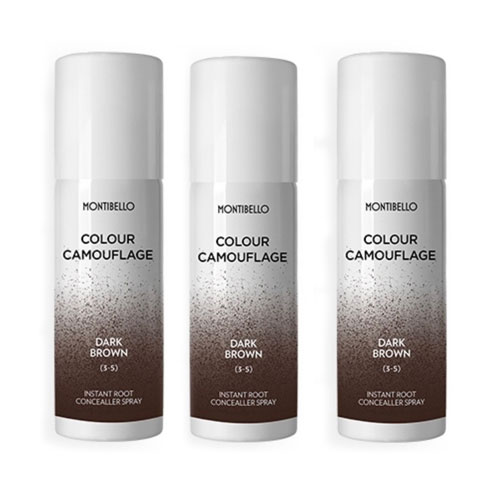 Montibello Root Spray Drak Brown 3 Pack