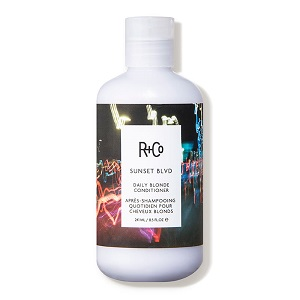 R + co sunset blvd daily blonde conditioner